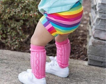 Rainbow Shorties - Bummies - Baby shorts - Toddler shorts - Baby girl shorts - Baby boy shorts - Baby bloomers - Baby clothes
