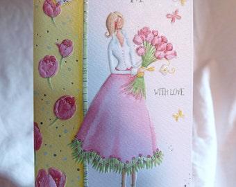 Happy Birthday Mum  With Love  Birthday Card