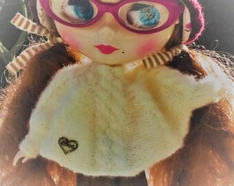 25-27cm, Blythe and similar bjd doll poncho
