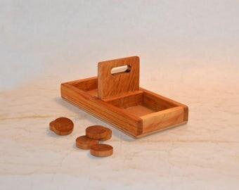 Montessori materials. Throwing circles. Skip circles. Wooden toys for Montessori.
