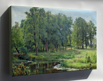 Canvas 16x24; In The Park By Ivan Shishkin