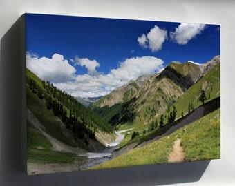 Canvas 16x24; Val Trupchun Swiss National Park (Graubünden) Switzerland