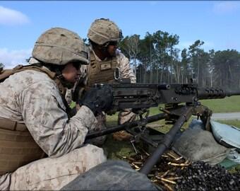 16x24 Poster; 10Th Marines Conducts Machine Gun Training 140917 M Zz999 006