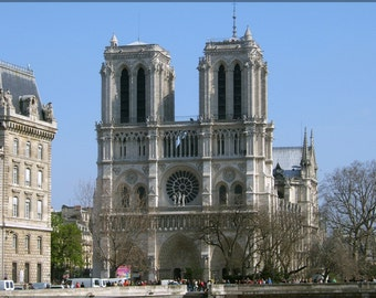 16x24 Poster; Notre Dame Cathedral