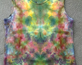 Dragonfly Dreams - Ice Dyed Top - Women's XL (16-18)