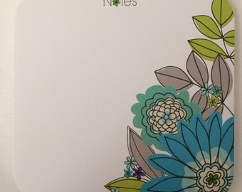 Flower Note Pad