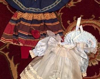 Vintage Doll Dresses (Lot 2) Group 13