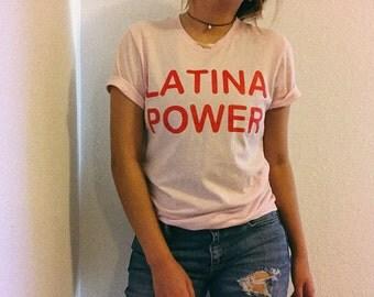 Latina Shirt - Girl Power Shirt - Feminist T-shirt - Women Empowerment - Feminist Shirt - Feminism - Latina - Latinas - Immigrant Shirt