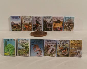 Ladybird Nature Books Set of 12