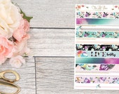 Live Boldly Washi Strips - Life Planner Stickers