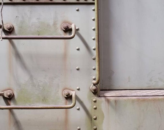 BOXCAR DETAIL | modern fine art photography blank note cards custom books interior wall decor affordable pictures –Rick Graves