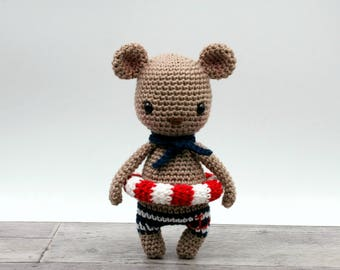 Crochet pattern - Malo the mini bear