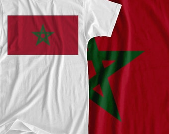 Morocco - Africa Flag - Iron On Transfer