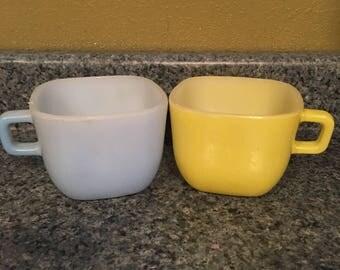 Glasbake lipton mugs