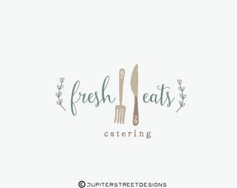 Logo design-Catering Logo-Food Logo-Blog Logo-Business Branding