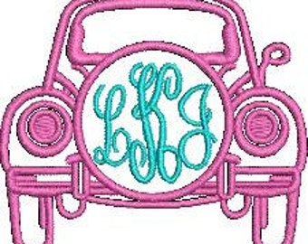 VW Bug Embroidery File