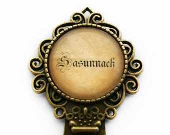 Outlander Sasunnach Bookmark