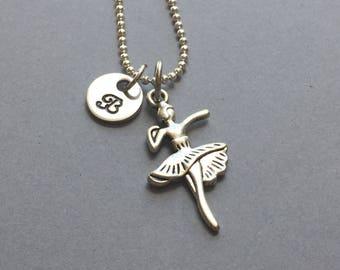 Ballerina Necklace-Ballerina Jewelry-Dance Necklace