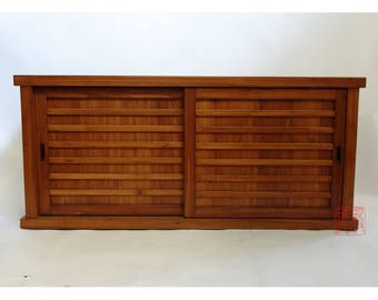 Japanese Tansu Style Media Chest (ENT)