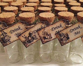 Alice In Wonderland Drink Me Bottle 35ml, UK shot size.