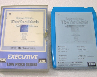 Vintage 8 / Eight Track Tape The Yardbirds Remember 8XEXE6  World Wide Shipping