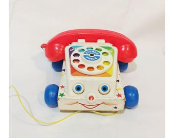 Vintage 1961 Fisher Price Chatterbox Phone