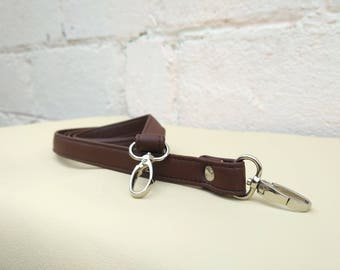 Adjustable Strap purse Vegan leather strap Handle 0.7x50 inch, Camera strap, Many colors