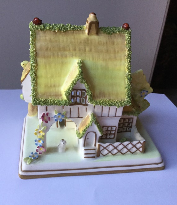 Coalport Cottage 'The Master's House' vintage china Staffordshire pottery
