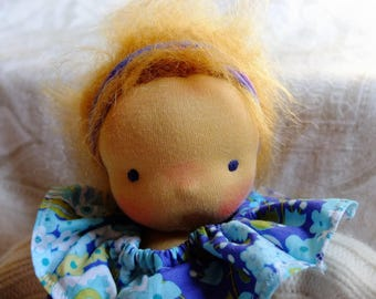 Baby Celeste- a waldorf style doll