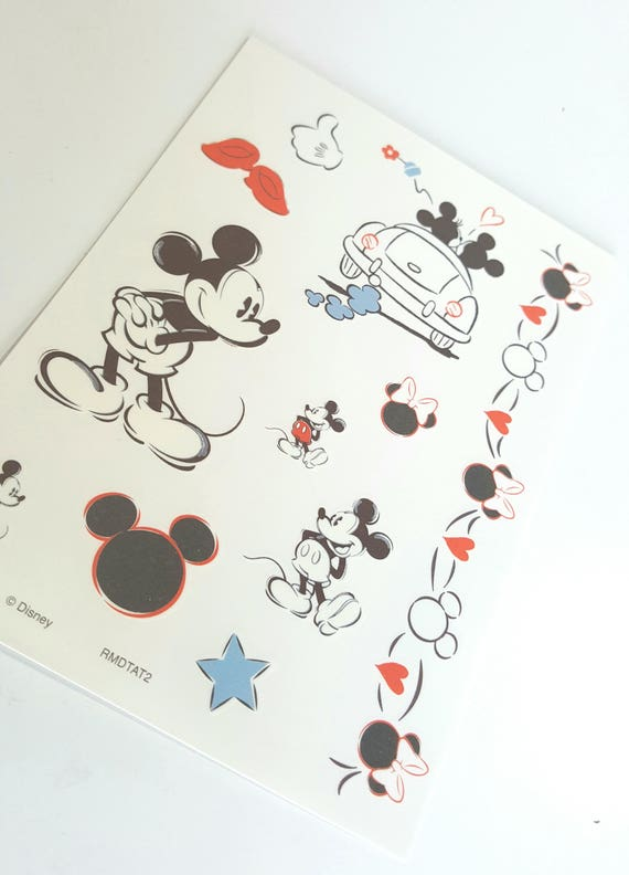 disney mickey mouse temporary tattoos mickey mouse
