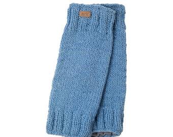 Wool Leg Warmers, Fleece Lined, Hand Knit, wool, leg warmer, legwear, bohemia socks, boot cuffs,
