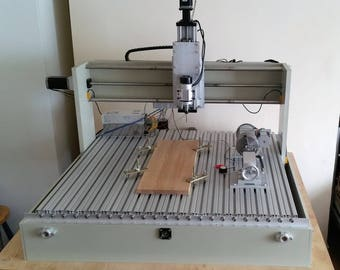 CNC Router Milling Machine with 4th axis