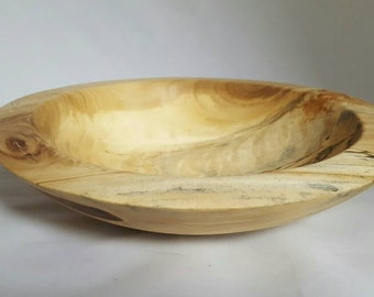 Spalted Cottonwood Bowl