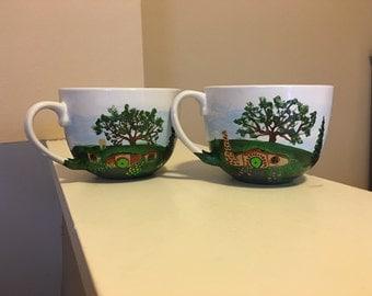 Hobbit tea cups