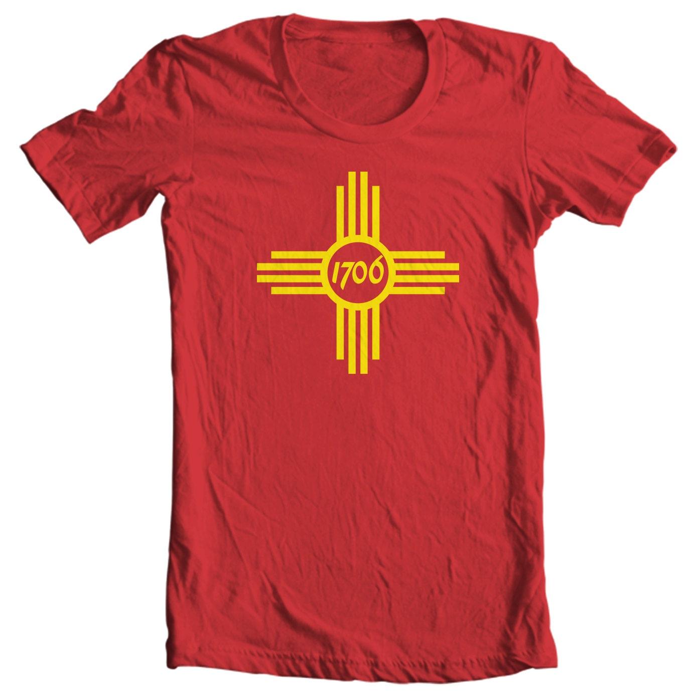 Albuquerque T-shirt - Albuquerque New Mexico City Flag - Albuquerque T-shirt