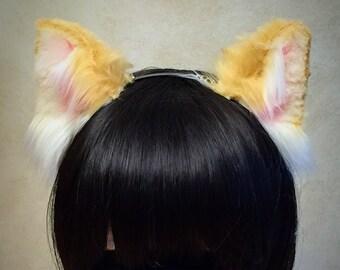 Blonde Kitten Ears