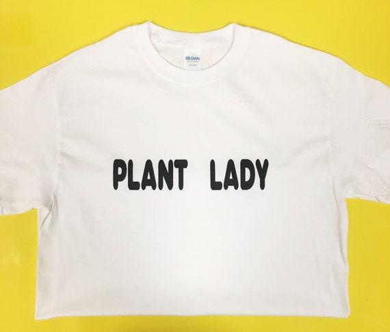PLANT LADY TEE // white