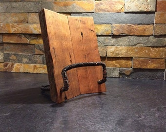 Book Holder / Bookstand / Cooking book holder / Wooden Recipe Book Holder