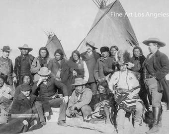 "John C.H. Grabill ""Indian Chiefs and U.S. Officials"" 1891"