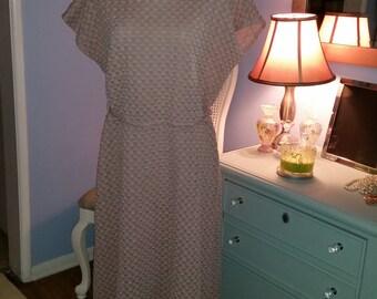 Seashells - Vintage Dress (Plus Size)
