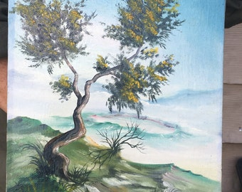 Tree near a Caldera