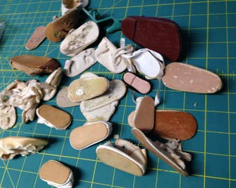 Odd Lot 25+ Baby Doll SHOES Vintage NOS