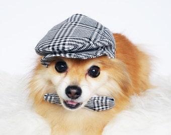 Ivy Caps for DOGS, CATS! HANDMADE dog hats, summer hat, cowboy hat, sun visor hat, sun hats, pet accessories, dog hoodies, puppy hunting cap