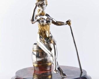 "Silver Figurine ""Dancer"""