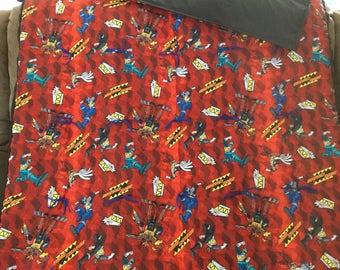 Power Rangers blanket