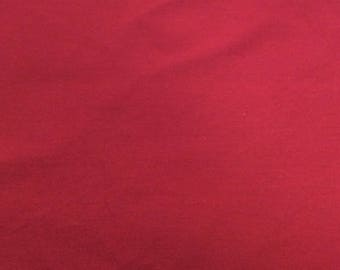 Apparel Knit Solid Fabric - Ruby (sold by the yard)