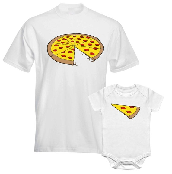Whole Pizza Slide Of Pizza Fathers Daddy Dad Son Daughter Mum