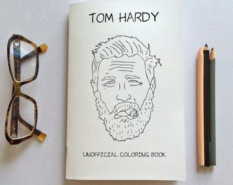 Tom Hardy Coloring Book