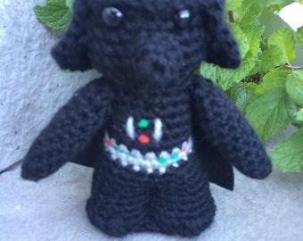 Star Wars Darth Vader Amigurumi, hand crocheted
