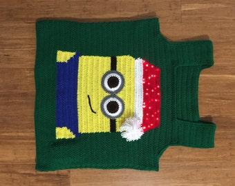 Minion sweater Etsy